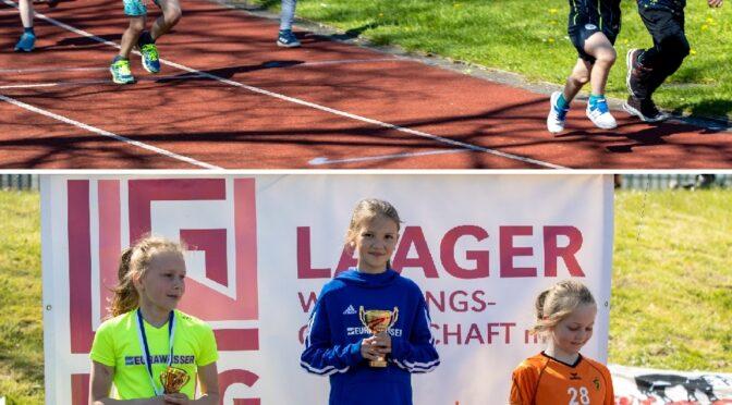 Trainings-Kinderlauf lockte ins Stadion