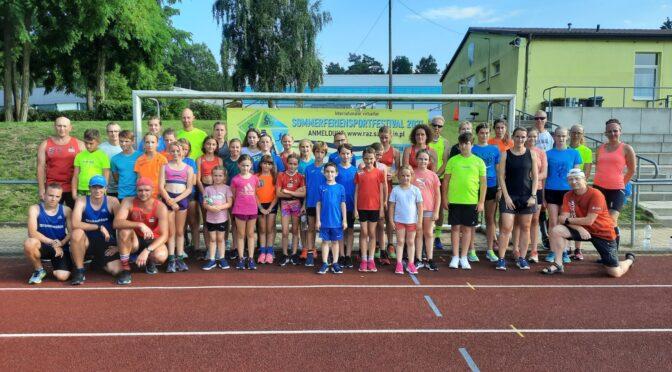 Sommerferiensportfestival bewegt Laager Sportler